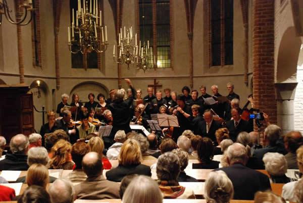 Bach-cantate-Petruskerk in nijmegen