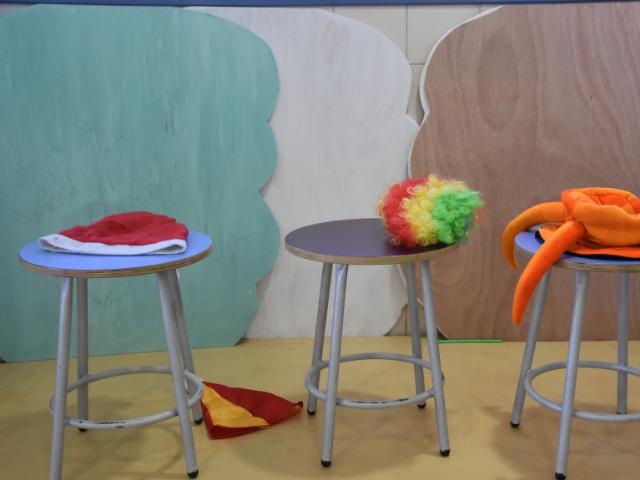 kinder theater stoel