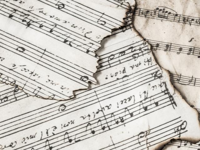 muziek bladmuziek